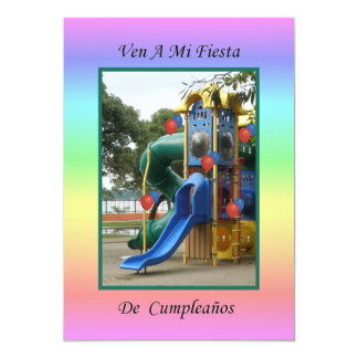 Ven a Mi Fiesta de Cumpleaños 4 Card
