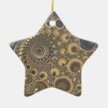 ¡Vena de plata! Arte del fractal Ornamento De Reyes Magos