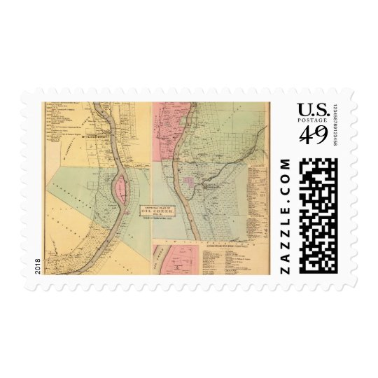 Venango County Pennsylvania, Creek Crawford County Postage