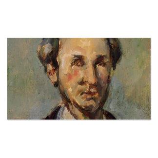 Vencedor Chocquet de Paul Cezanne- Tarjetas De Visita