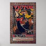 Vencedor del vintage de la publicidad de la bicicl posters