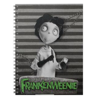 Vencedor Frankenstein Libreta