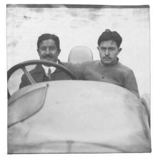 Vencedor Rigal en los 1914 franceses Grand Prix Servilleta