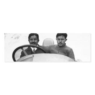 Vencedor Rigal en los 1914 franceses Grand Prix Tarjeta De Visita