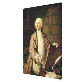 Vencedor Riquetti marqués de Mirabeau 1743 Lona Estirada Galerias