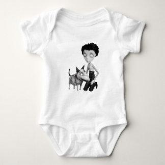 Vencedor y vivaracho body para bebé