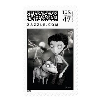 Vencedor y vivaracho sellos postales