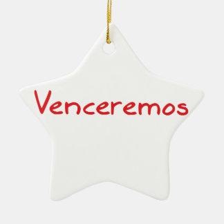 Venceremos Christmas Ornament