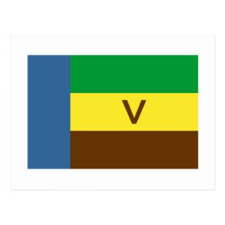 Venda Flag Postcard