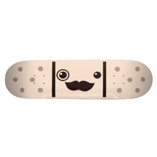 Vendaje del pegamento del caballero del bigote patines personalizados