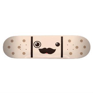 Vendaje del pegamento del caballero del bigote tabla de skate