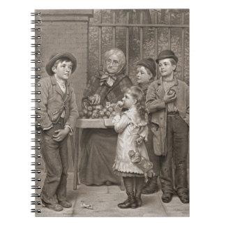 Vendedor 1881 de Apple Libros De Apuntes