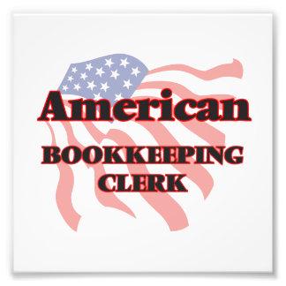 Vendedor americano de la contabilidad fotografías