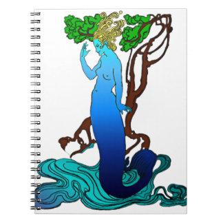 Vendedor Colvill y el cuaderno de la sirena