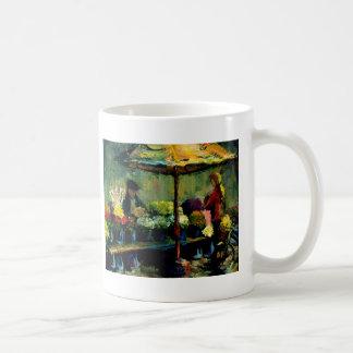 Vendedor de la flor taza