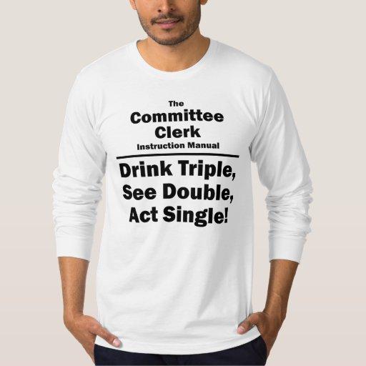 vendedor del comité remeras
