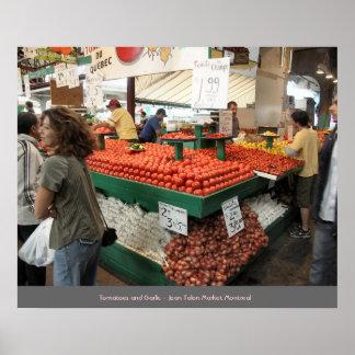 Vendedor del mercado de la garra de Jean - Montrea Impresiones