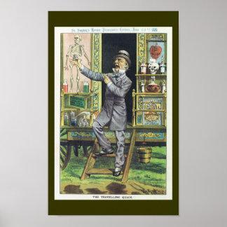 """Vendedor del ungüento mágico """"del curandero que vi póster"""