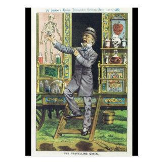"""Vendedor del ungüento mágico """"del curandero que vi postales"""
