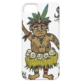 Vendedor principal de Sam del comerciante por Tiki Funda Para iPhone 5 Barely There
