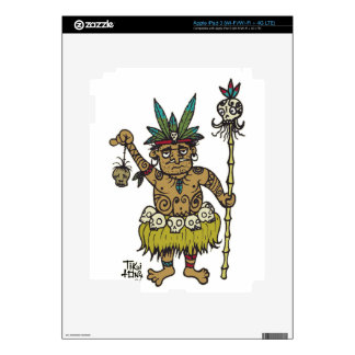 Vendedor principal de Sam del comerciante por Tiki iPad 3 Pegatina Skin