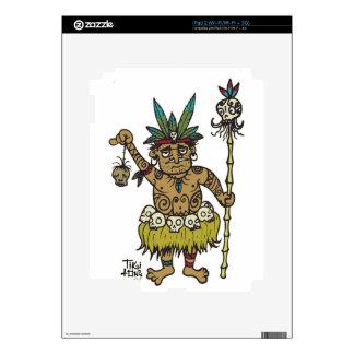 Vendedor principal de Sam del comerciante por Tiki Skin Para El iPad 2
