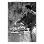 Vendedor turco del panecillo - Acma Tarjeton