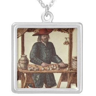 Vendedor veneciano del tabaco colgante cuadrado