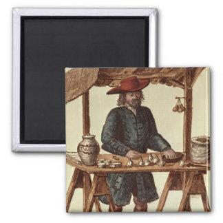 Vendedor veneciano del tabaco imanes de nevera