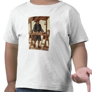 Vendedor veneciano del tabaco camiseta