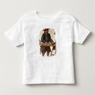 Vendedor veneciano del tabaco playera de bebé