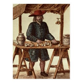 Vendedor veneciano del tabaco postal