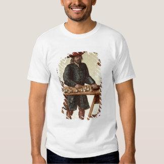Vendedor veneciano del tabaco remera