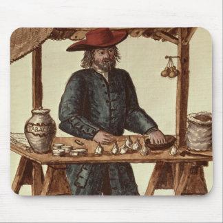Vendedor veneciano del tabaco tapete de ratones