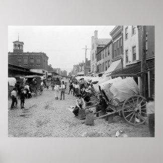 Vendedores ambulantes: 1908 poster