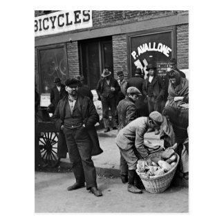 Vendedores ambulantes del pan italiano: 1900 tarjeta postal