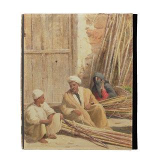 Vendedores de la caña de azúcar, Egipto, 1892 (ace