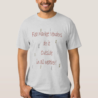 Vendedores del mercado de pulgas playeras