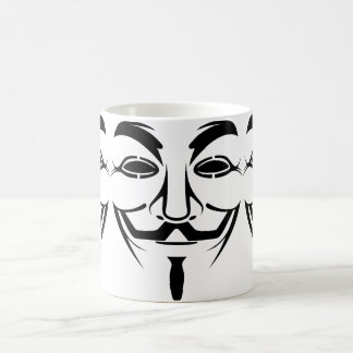 Vendetta mask coffee mug