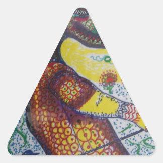 Vendetta Triangle Sticker