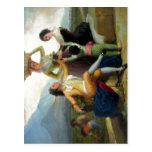 Vendimia de Goya del La, (1786-87). ¿Est? EL Museo Tarjetas Postales