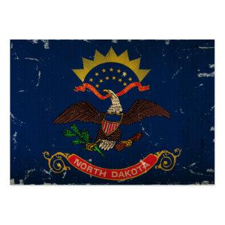 VENDIMIA de la bandera del estado de Dakota del No