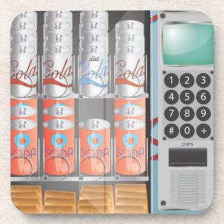Vending Machine Beverage Coaster