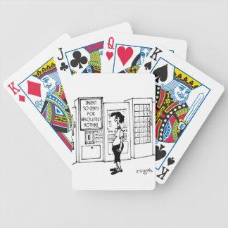 Vending Machine Cartoon 2988 Bicycle Playing Cards