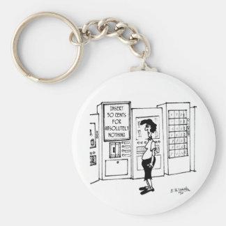 Vending Machine Cartoon 2988 Keychain
