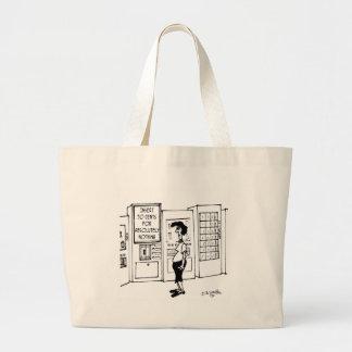 Vending Machine Cartoon 2988 Large Tote Bag