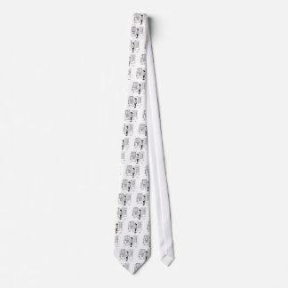 Vending Machine Cartoon 2988 Neck Tie
