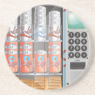 Vending Machine Drink Coaster