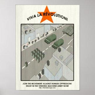 Vending Machine Revolution Poster