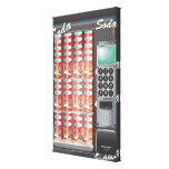 Vending Machine Stretched Canvas Print